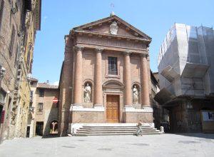 Chiese Particolari In Toscana: La Chiesa di San Cristoforo a Siena